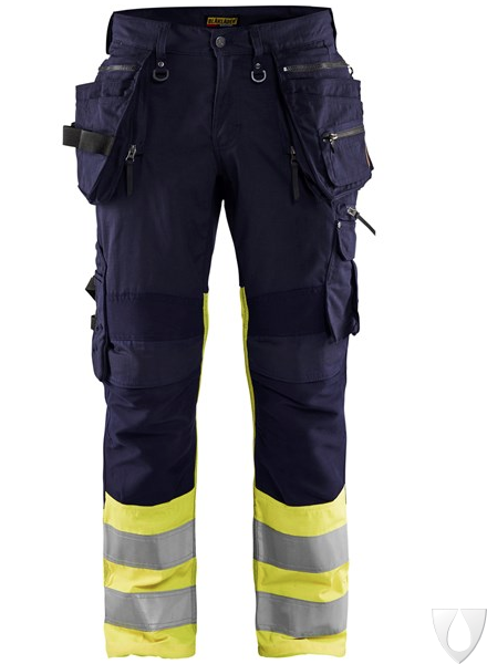 1994 Blåkläder High Vis werkbroek met stretch X1900
