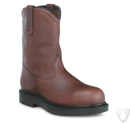 REDWING 3242 MEN'S 10-INCH PULL-ON BROWN