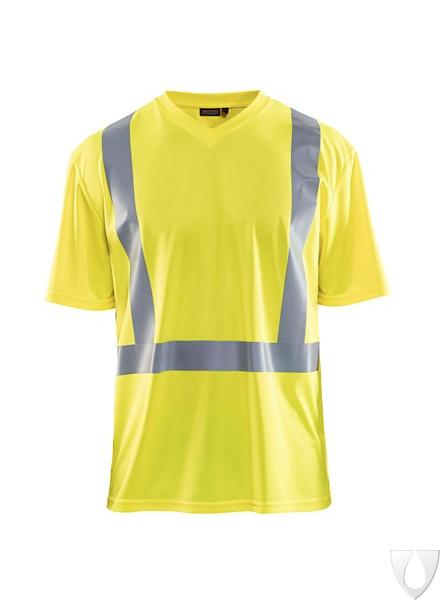 3382 Blåkläder UV Poloshirt High Vis