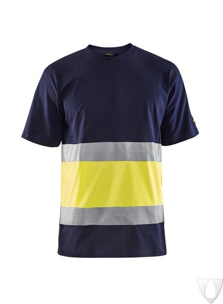 3387 Blåkläder T-Shirt High Vis