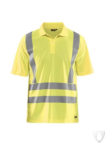 3391 Blåkläder UV Poloshirt High Vis