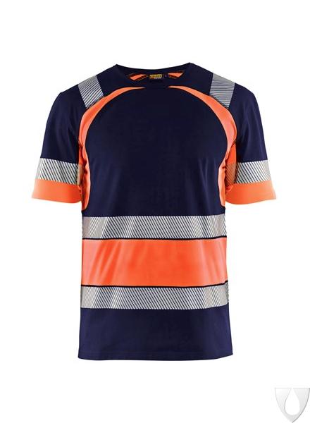 3421 Blåkläder T-Shirt High Vis