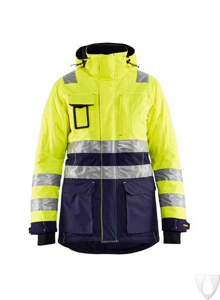 4472 Blåkläder Dames Winterparka High Vis