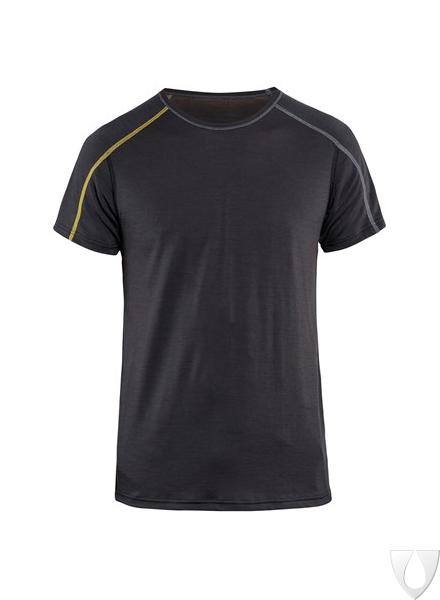 4798 Blåkläder Onderhemd Korte Mouw Xlight 100% Merino