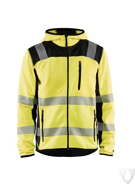 Blaklader Workwear Softshell Jacket Black//Yellow 4XL