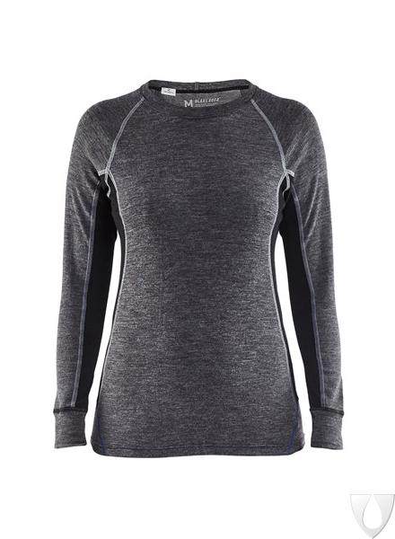 7200 Blåkläder Dames Onderhemd, 100% Merino Warm