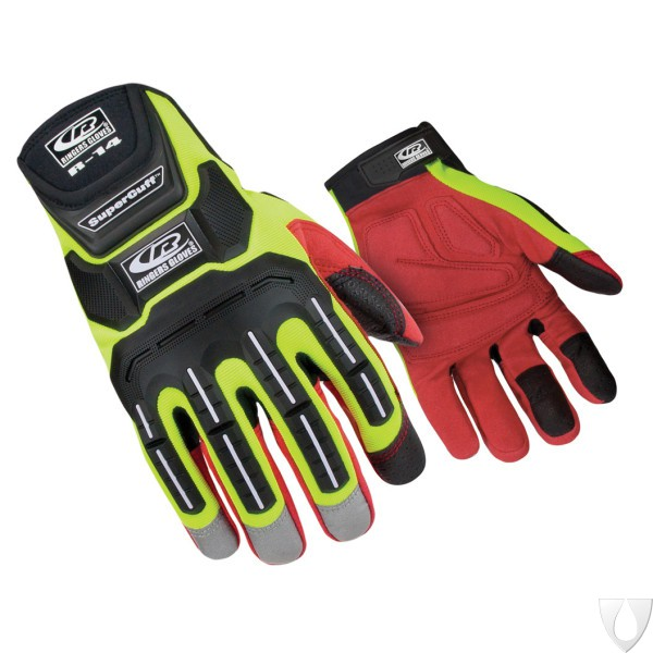 Ringers Gloves R-14 Mechanics – Hi-Vis