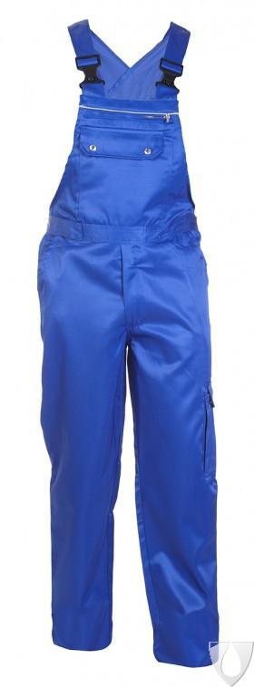 048481 Hydrowear Bib and Brace Trouser Beaver Eastbourne Royal Blue