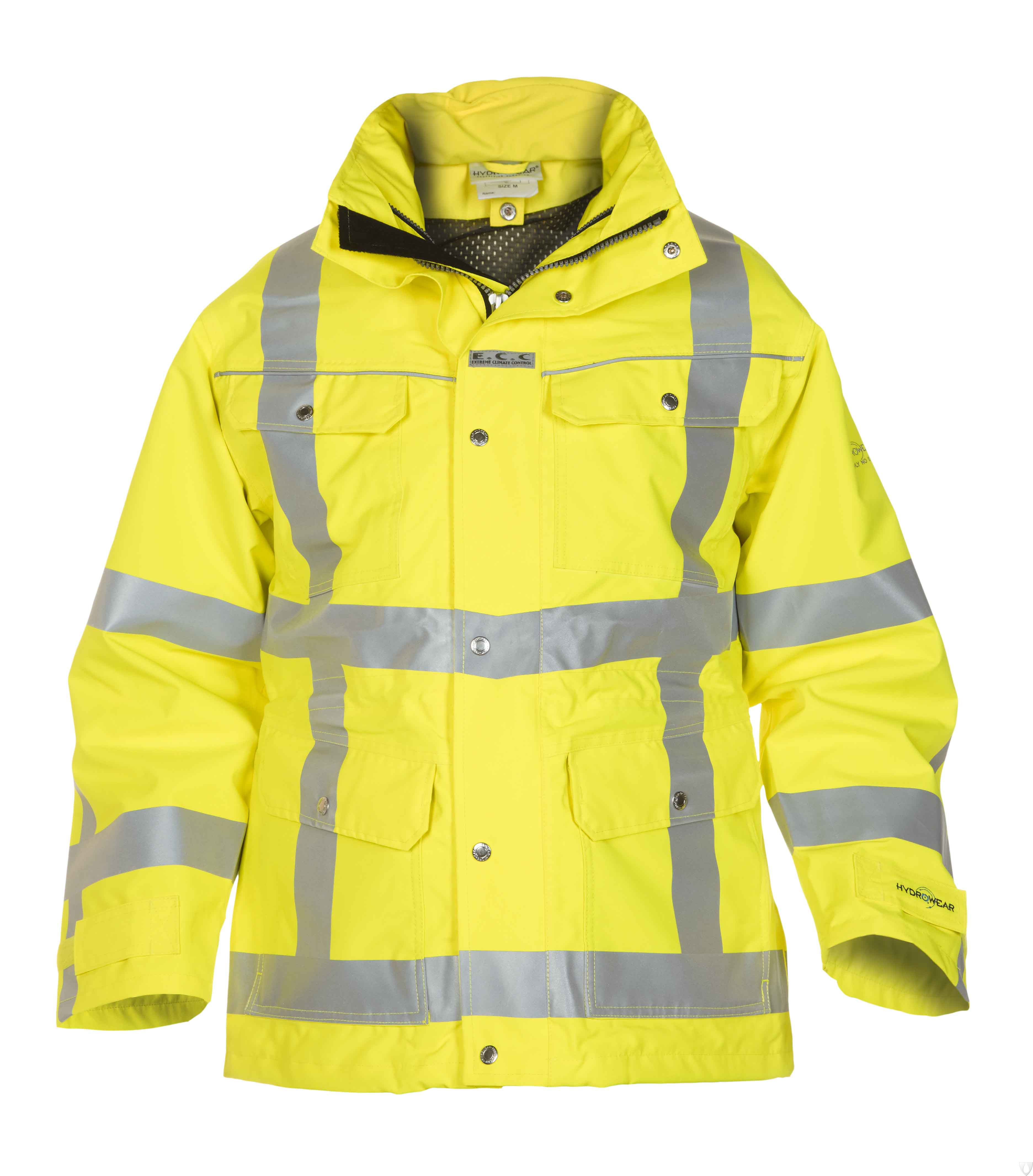 04026005P Hydrowear Parka Franeker Simply No Sweat EN471 RWS (Yellow or Orange)