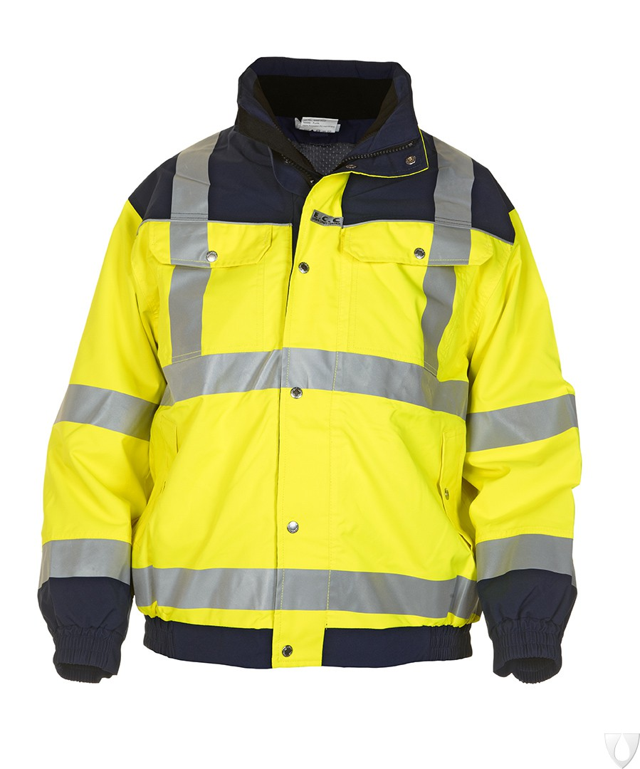 04021599 Hydrowear Pilot Jacket Furth Simply No Sweat EN471 Bicolour (Yellow or Orange)