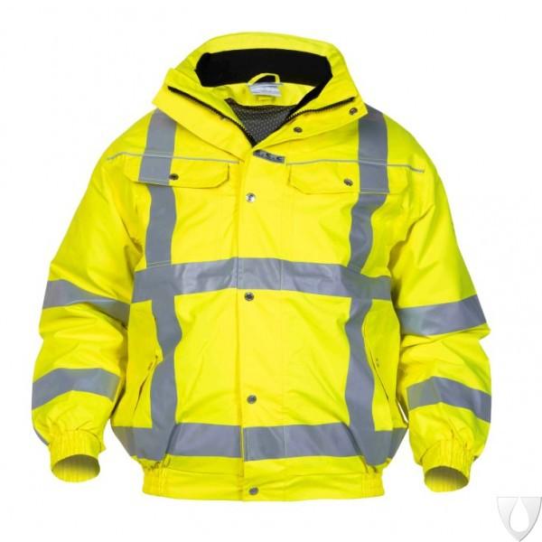04021601 Hydrowear Pilot jacket Foxhol Simply No Sweat EN471 RWS (Yellow or Orange)