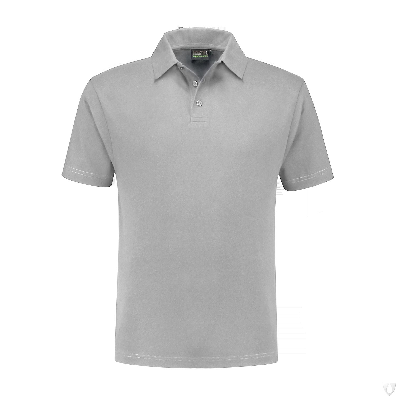 PO200 Indushirt Polo-shirt 60/40 kat/pol Grijs