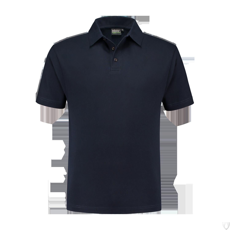 PO200 Indushirt Polo-shirt 60/40 kat/pol Marine