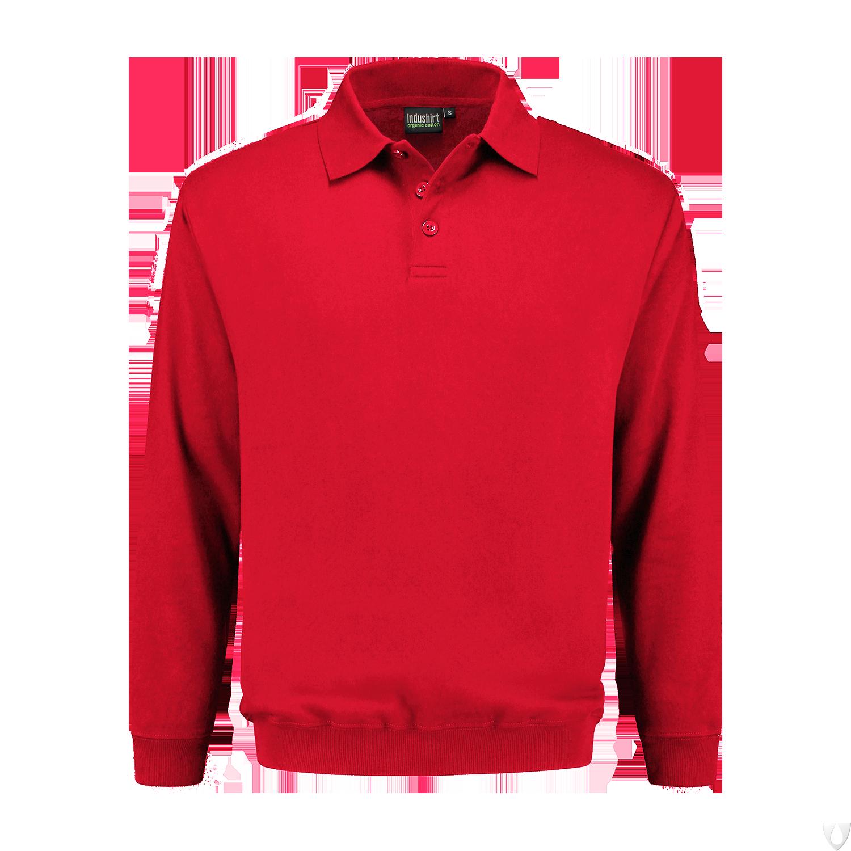 PSO 300 Indushirt Sweater 60/40 kat/pol Rood