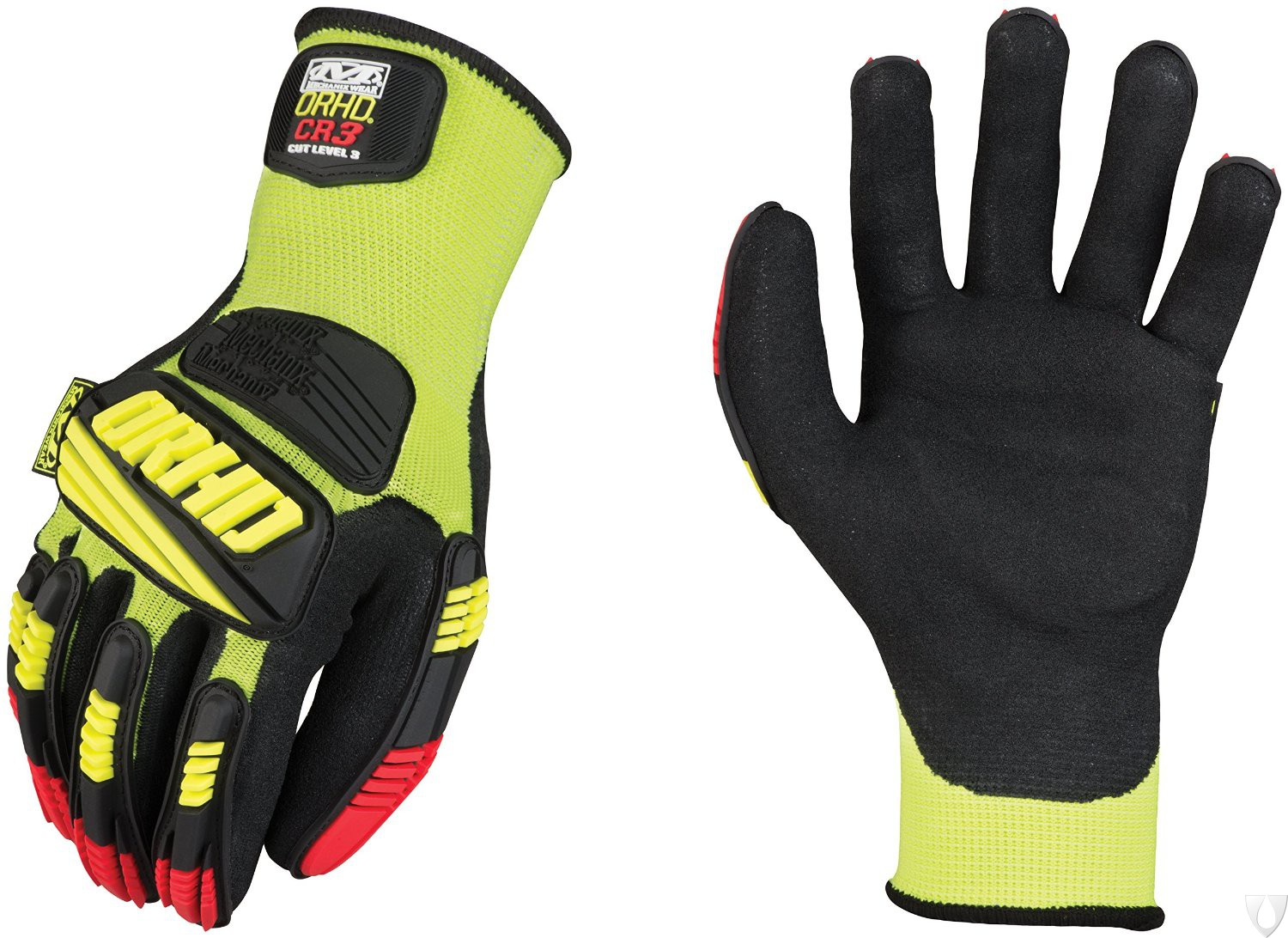 Mechanix Handschoen ORHD Knit Cut CR3 KHD-GP