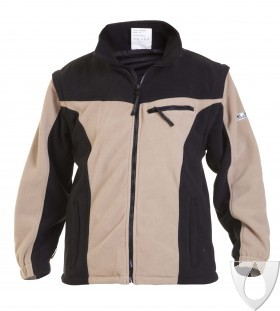 04026028 Hydrowear Polar Fleece Kleve Khaki/Black