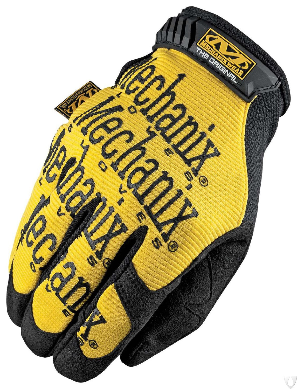 Mechanix Handschoen Original Geel MG-01