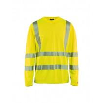 3385 Blåkläder T-shirt lange mouw High Vis