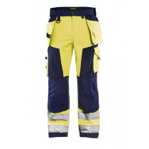 1567 Blåkläder Werkbroek Softshell High Vis