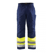 1862 Blåkläder Winterwerkbroek High Vis