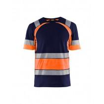 3421 Blåkläder T-shirt HI-VIS
