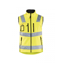 3049 Blåkläder Softshell Vest High Vis