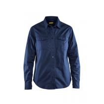 3208 Blåkläder Dames Overhemd Twill