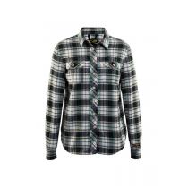 3209 Blåkläder Dames Overhemd Flanel