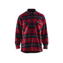3220 Blåkläder Overhemd Flanel. Gevoerd