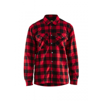 3225 Blåkläder Overhemd Flanel. Gevoerd