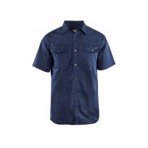 3296 Blåkläder Overhemd Twill korte mouw