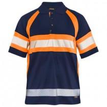 3338 Blåkläder Poloshirt HI-VIS