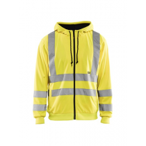 3346 Blåkläder Hooded Sweatshirt High Vis