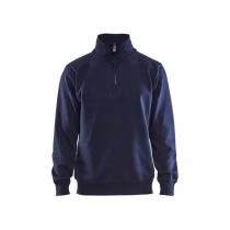 3365 Blåkläder Sweatshirt Jersey (1/2 rits)