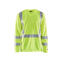 3383 Blåkläder UV T-Shirt Lange Mouw High Vis