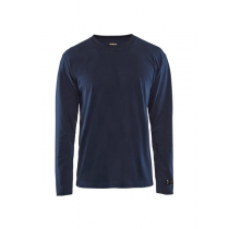 3483 Blåkläder Vlamvertragend t-shirt lange mouw