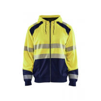 3546 Blåkläder Hooded Sweatshirt High Vis