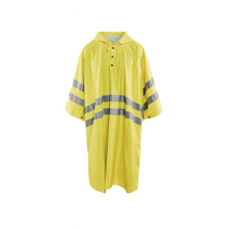 4308 Blåkläder High Vis Regenponcho Level 1