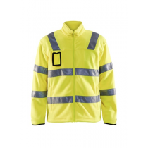 4833 Blåkläder Fleecejas High Vis