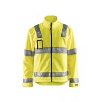 4838 Blåkläder Jas Softshell High Vis