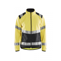 4877 Blåkläder Softshell Jack High Vis