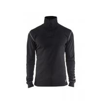 4898 Blåkläder FR overhemd zip-neck