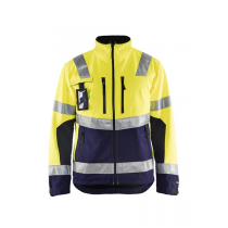 4900 Blåkläder Softshell Jack High Vis