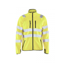4906 Blåkläder Softshell Jack High Vis