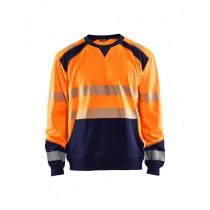 3541 Blåkläder Sweatshirt HIGH VIS