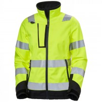 Helly Hansen Luna Hi Vis Softshell Jacket 74098