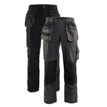 1525 Blåkläder werkbroek lichtgewicht zwart en grijs