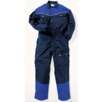 048495 Hydrowear Coverall Groesbeek Navy/Royal Blue