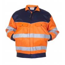 044477 Hydrowear Summer Jack Beaver Hengelo EN471 Bicolour(Orange/navy, Orange/Green)
