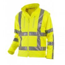 04025980 Hydrowear Softshell Jack Thermo Line Toulon EN471 RWS (Yellow or Orange)